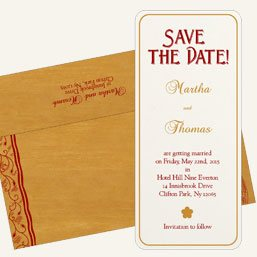 Save The Date cards - 123WeddingCards