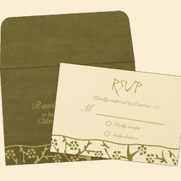 RSVP Cards - 123WeddingCards