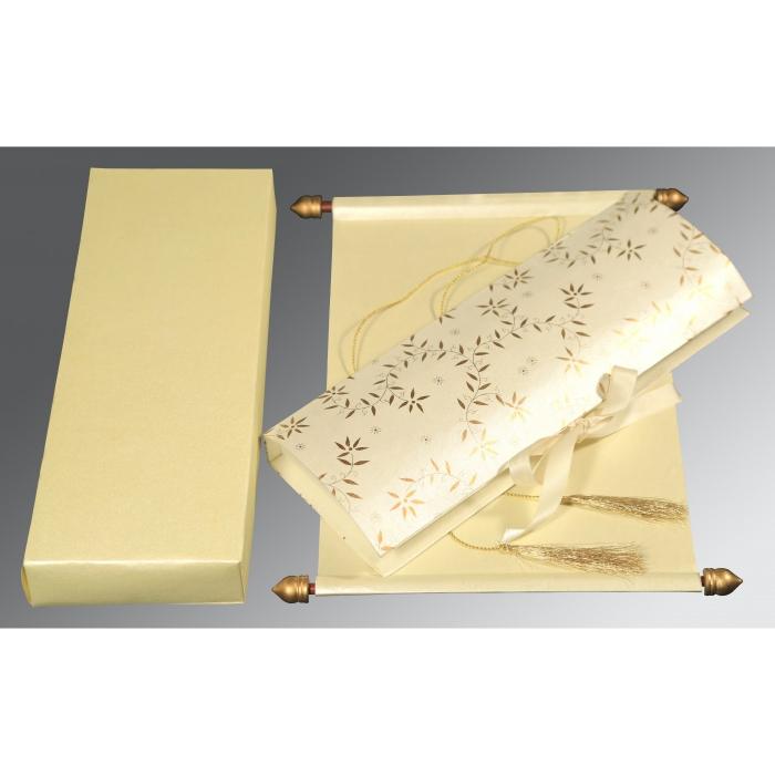 Scroll Wedding invitations | Scroll Wedding Cards | Scroll Invitations