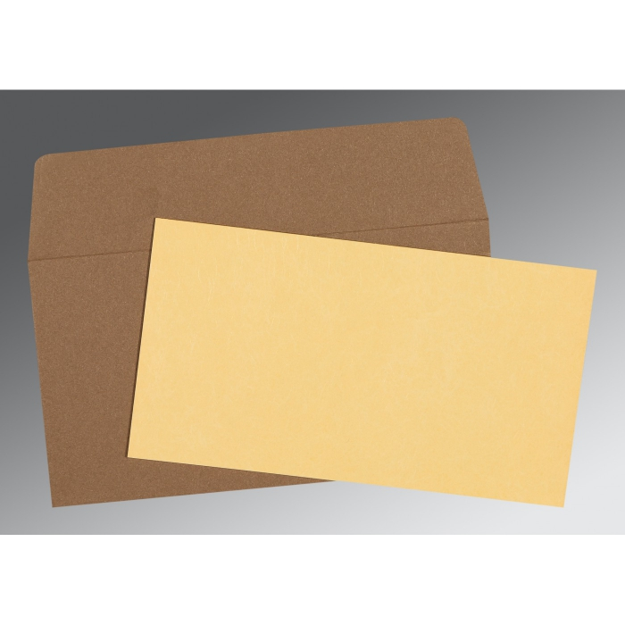 Ivory Matte Wedding Card : P-0021 - 123WeddingCards