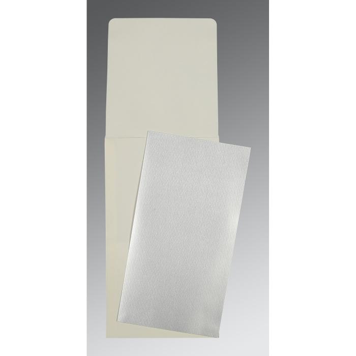Shimmery Wedding Card : P-0011 - 123WeddingCards