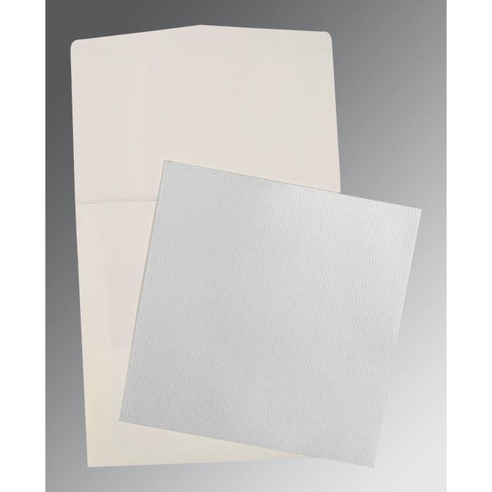 Shimmery Wedding Card : P-0015 - 123WeddingCards