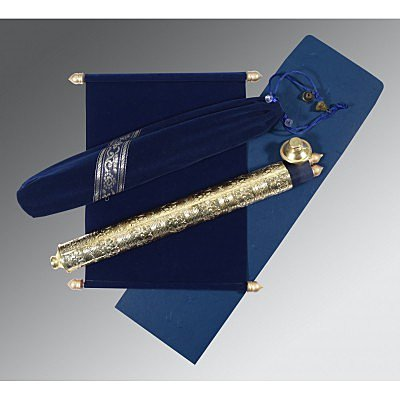 Blue Velvet Wedding Card : SC-5005F - 123WeddingCards