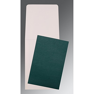 Green Glossy Wedding Card : P-0005 - 123WeddingCards