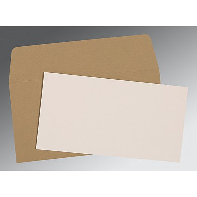 Ivory Matte Wedding Invitation : P-0024 - 123WeddingCards