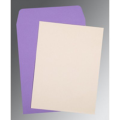 Ivory Matte Wedding Invitation : P-0030 - 123WeddingCards