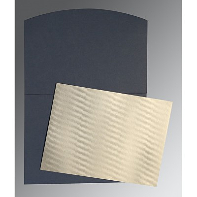Shimmery Wedding Card : P-0009 - 123WeddingCards