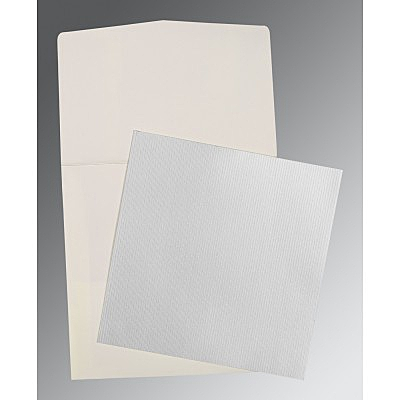Shimmery Wedding Card : P-0015 - 123WeddingCards